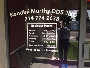 Property Management Window Graphics North Jersey