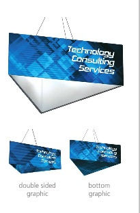 Trade show hanging banners New Jersey