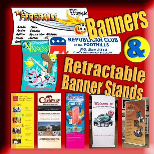 Types of Banners   North Jersey   Nationwide
